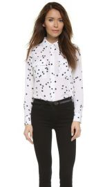 Equipment Slim Signature Blouse at Shopbop