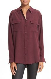 Equipment Slim Signature Silk Shirt at Nordstrom