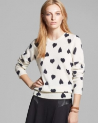 Equipment Sweater - Shane Union Hearts in Cashmere at Bloomingdales