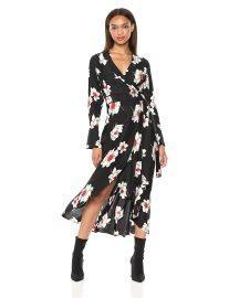 Equipment Women s Antiquity Floral Printed Gowin Dress at Amazon