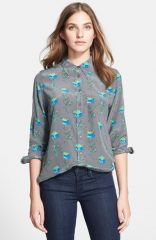 Equipment and39Brettand39 Print Silk Blouse at Nordstrom