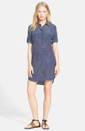 Equipment and39Slim Signatureand39 Print Silk Shirtdress at Nordstrom