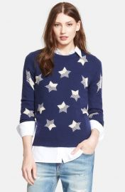 Equipment and39Sloanand39 Star Pattern Cashmere Pullover at Nordstrom