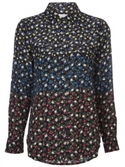 Equipment signature Floral Blouse - Zo at Farfetch
