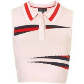Eraser Stripe Top at Topshop