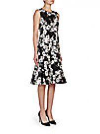 Erdem - Jana Paneled Floral Crepe Dress at Saks Fifth Avenue
