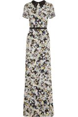 Erdem floral gown at Net A Porter
