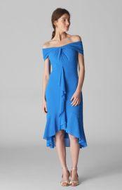 Eriko Dobby Bardot Dress  Whistles at Whistles