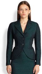Escada - Checkerboard Jacquard Jacket at Saks Fifth Avenue