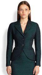 Escada - Checkerboard Jacquard Jacket at Saks Fifth Avenue
