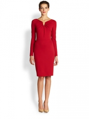 Escada - Dorikes Jersey Sheath Dress at Saks Fifth Avenue