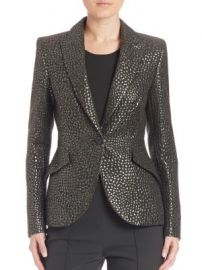 Escada - Full Sleeve Fitted Blazer at Saks Fifth Avenue