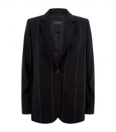 Escada Checked Blazer at Neiman Marcus