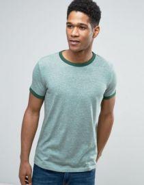 Esprit Crew Neck Slubby Ringer T-Shirt at asos com at Asos