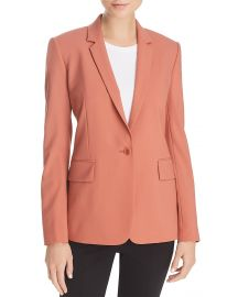 Essential Stretch-Wool Blazer at Bloomingdales