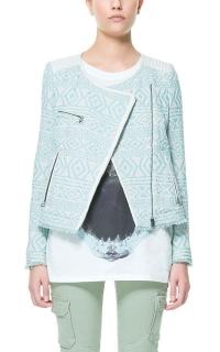 Ethnic Jacquard Jacket at Zara
