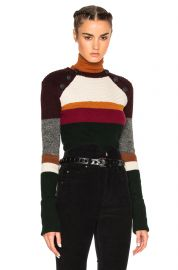 Etoile Isabel Marant Doyle striped wool sweater at Forward