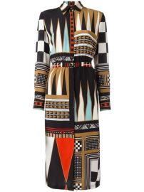 Etro Geometric Print Shirt Dress at Farfetch