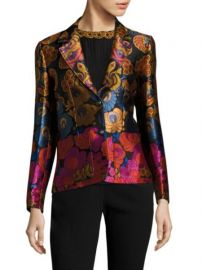 Etro Floral Jacquard Jacket at Saks Fifth Avenue