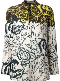 Etro Floral Printed Blouse - at Farfetch