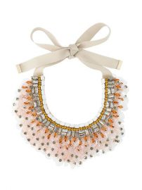 Etro Sequin Bib Necklace at Farfetch