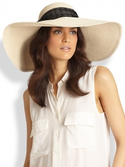 Eugenia Kim - Sunny Wide Brim Hat at Saks Fifth Avenue