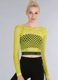 Eva Avocado Elastic Top at Avocado