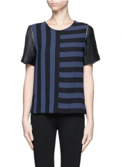 Eveil Striped Top by Sandro at Lane Crawford