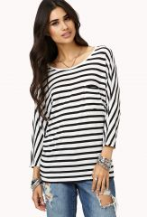 Everyday striped tee at Forever 21