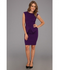 Evvie peplum dress by Ted Baker at Zappos