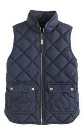 Excursion Quilted Vest at J. Crew
