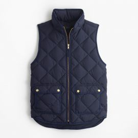 Excursion quilted down vest in Navy at J. Crew