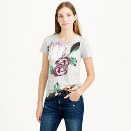 Exploded Floral Tee at J. Crew