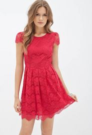 Eyelash Lace Dress at Forever 21