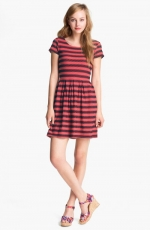 Eyelet stripe dress by Eight Sixty at Nordstrom