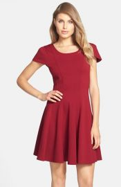 FELICITY andamp COCO Double Knit Fit andamp Flare Dress at Nordstrom