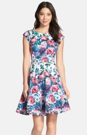FELICITY andamp COCO Stretch Cotton Fit andamp Flare Dress at Nordstrom