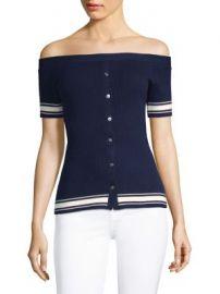 FRAME - Off-The-Shoulder Sweater at Saks Fifth Avenue