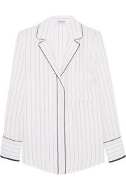 FRAME   Striped silk shirt at Net A Porter