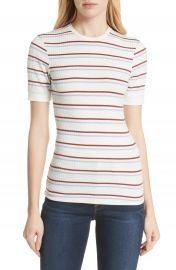 FRAME   x27 70s Stripe Fitted Tee at Nordstrom