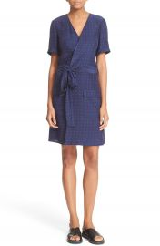 FRAME  Le Wrap Tie  Silk Wrap Dress  Nordstrom Exclusive at Nordstrom