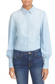 FRAME Chambray Blouse at Nordstrom