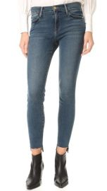 FRAME Le High Skinny Raw Stagger Jeans at Shopbop