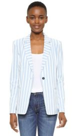 FRAME Le Stripe Blazer at Shopbop