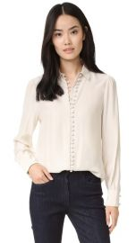 FRAME Victorian Button Up Blouse at Shopbop