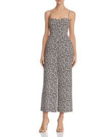 FRENCH CONNECTION Cropped Tie-Back Floral-Print Jumpsuit Women - Bloomingdale s at Bloomingdales
