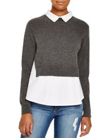 FRENCH CONNECTION Fast Fresh Knits Layered Look Sweater at Bloomingdales