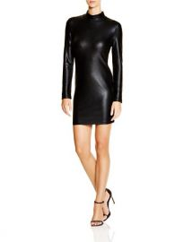 FRENCH CONNECTION Faux Leather Dress - 100 Bloomingdaleand039s Exclusive at Bloomingdales