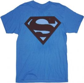 Faded Superman Logo Tshirt at TV Store Online