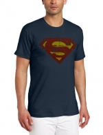 Faded Superman tee like Sheldons at Amazon